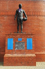 Ibrox Disaster Memorial, 2nd January 1971 (allanmaciver) Tags: rangers celtic ibrox disaster glasgow football tragedy 1971 66 memory memorial names january john greig stairway 13