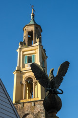 Portmerion Bell Tower (Maria-H) Tags: belltower portmeirion wales uk olympus omdem1markii panasonic 100400