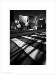 Walt Disney Concert Hall, Los Angeles #6 (Ian Bramham) Tags: waltdisneyconcerthall losangeles frankgehry stainlesssteel cladding architecture light shadow