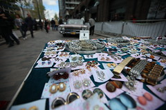 Jewellery For Sale (ItsIllak) Tags: jewellery table sale necklaces earrings broaches