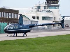 Robinson R-44 G-RAVN Shoreham (oldpeckhamboy1) Tags: shoreham