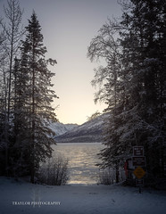 Eklutna Lake (Traylor Photography) Tags: alaska hoarfrost landscape winter eklutnalake mountiains anchorage sunrise frozen chugiak unitedstatesofamerica us