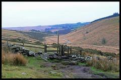 A Bleak Landscape. (curly42) Tags: dartmoor devon dartmoornationalpark landscape view footpath scenery
