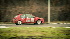 Citroen Saxo 1.6 16V (Rafał Jędrasiak) Tags: citroen saxo 16v rally car auto speed grass red green sony a6500