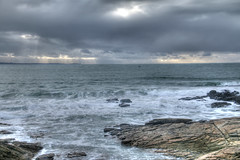 Gris bleu (domiguichard) Tags: vzgues sea ocean mer quiberon bretagne clouds nuages