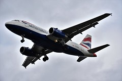 G-EUPB at LHR (chrysanyo) Tags: ba lhr airliner airbus a319