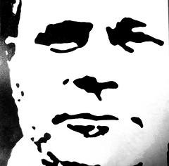 it`s me (hussi48) Tags: portrait schwarzweis crazytuesday blackwhite acrylaufleinwand