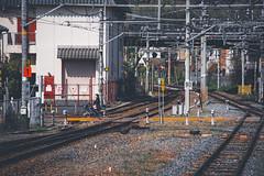 Arashiyama - Kyoto, Japan (inefekt69) Tags: arashiyama kyoto japan nikon d5500 京都 日本 嵐山 train rail railway station