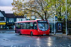 At the stop (mangopearuk) Tags: uk unitedkingdom england hampshire southampton woolston publictransport transit publictransit bus buses singledecker red