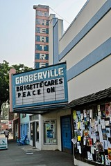 Garberville Theatre, Garberville, CA (Robby Virus) Tags: california ca garberville marquee theatre theater cinema movie movies neon sign signage