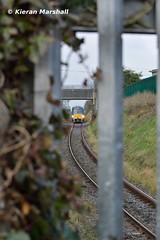 22016+22007 approach Mullingar, 17/11/18 (hurricanemk1c) Tags: railways railway train trains irish rail irishrail iarnród éireann iarnródéireann 2018 22000 rotem icr rok 4pce 22016 1105sligoconnolly mullingar