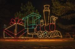 all aboard the Christmas Express (Deb Felmey) Tags: winterwonderfest capehenlopen christmas lights lightshow train delaware stateparks