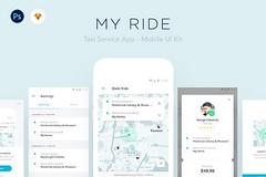MY RIDE - #TaxiApp #UI Kit by Nimart > https://t.co/wk6YswgqFu https://t.co/NY8do5UqNS (designeour) Tags: design photography photo gear