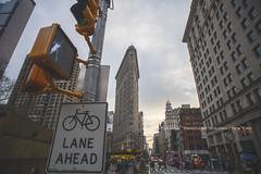 The Flatiron of New York (~FreeBirD®~) Tags: newyork usa americas december 2018 themostinterestingindian ridingfreebird freebird international nyc city 22story manibabbarphtography nikon d850
