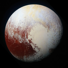 High-resolution enhanced color view of Pluto. Original from NASA. Digitally enhanced by rawpixel. (Free Public Domain Illustrations by rawpixel) Tags: astrology astronomical astronomy astrophotography blue cc0 celestial cosmology cosmos dwarf nasa newhorizons orange outerspace pdnasa planet pluto publicdomain rainbow red solarsystem space surface themilkyway universe yellow