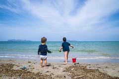Nipoti al mare