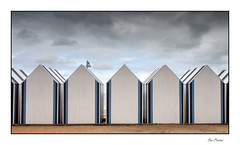Les cabines d'Yport (Rémi Marchand) Tags: cabinesdeplage cabines yport plage normandie france seinemaritime manche mer