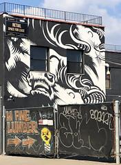 Triple Crown by ASVP (wiredforlego) Tags: asvp graffiti mural streetart urbanart aerosolart publicart williamsburg brooklyn newyork nyc ny