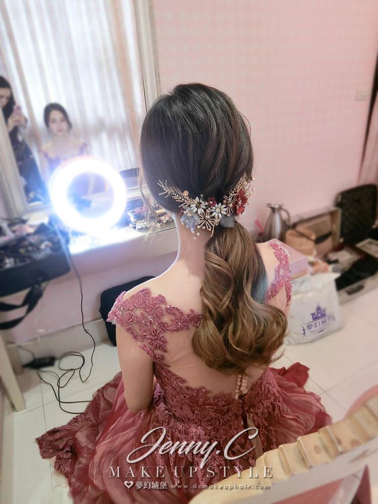 【新秘蓁妮】bride禹含 結婚造型 /台中雅園新潮