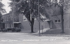 "CEN Beaverton Gladwin MI RPPC c.1950s THE OLD HIGH SCHOOL Building and Grounds built in 1936 replacing the original 1908 building on Tonkin Street HOME OF THE BEAVERTON BEAVERS2 (UpNorth Memories - Donald (Don) Harrison) Tags: vintage antique postcard rppc ""don harrison"" ""upnorth memories"" upnorth memories upnorthmemories michigan history heritage travel tourism restaurants cafes motels hotels ""tourist stops"" ""travel trailer parks"" cottages cabins ""roadside"" ""natural wonders"" attractions usa puremichigan "" ""car ferry"" railroad ferry excursion boats ships bridge logging lumber michpics uscg uslss"