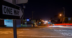 Los Angeles, California (TomST.Photography) Tags: losangeles pch pacificcoasthighway goldenstate sunstate california cali hermosabeach oneway night longexposure southerncali la lalaland cityofangels road street travel nightphotography