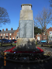 War Memorial at Lytham (Landstrider1691) Tags: lytham warmemorial poppies wreath remembrance thegreatwar wwi 19141918 diedofwounds killedinaction lythamlancashire ww1 1914 1915 1916 1917 1918 1919 heroes terrace terracedhouses rowhouses park