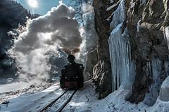 The Beast from the East (Kingmoor Klickr) Tags: 764449 resita carpathian mountains romania viseudesus narrowgauge railway reșița