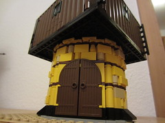 dockside crane 2 (argo naut) Tags: 18th century harbour buildings marine british medieval napoleonic era jetty pier docks brethren brick seas lego corrington