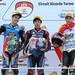 FIM CEV Repsol 2018. Valencia 2. Moto3. Podio 1