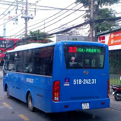Samco City I51 CNG on bus line number 32 connects Western bus terminal and Ngã tư ga bus terminal  Vehicle license plate: 51B - 242.31 #samco #samcobus #isuzu #isuzubus #cngbus #ngvbus #benxemientay #phulam #chotanhuong #khucongnghieptanbinh   #congtyhuep (phanphuongphi) Tags: benxemientay khucongnghieptanbinh bus32 isuzubus samco cngbus trungtamvanhoaquangovap nhathohanoi buytsaigon ngvbus phulam benxengatuga chotanhuong isuzu cauanloc samcobus naturalgasbus congtyhuephong