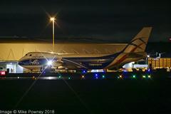 G-CLAA - 2004 build Boeing B747-446F, pulling onto stand on arrival at East Midlands from Malpensa (egcc) Tags: b744 b744f b747 b747400 b747400f b747446f b747f boeing cla clu cargo cargologicair castledonington egnx ema eastmidlands freighter gclaa ja402j jumbojet lightroom n402al p3 vqbjb