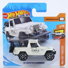 HOT-2019-084-Jeepster (adrianz toyz) Tags: hot wheels diecast toy model car 2019 series jeep jeepster commando 67 1967 hottrucks adrianztoyz