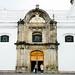Elegant cathedral entrance
