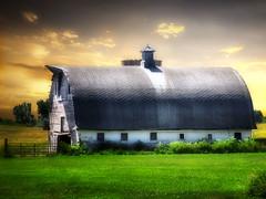 The barn 7 (mrbillt6) Tags: landscape rural prairie barn farm grass sky summer outdoors country countryside northdakota