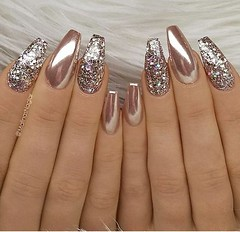 Great Glitter Nail Art Designs Ideas