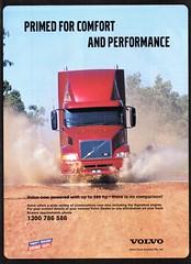 2000 Volvo Trucks Aussie Original Magazine Advertisement (Darren Marlow) Tags: 2 20 00 2000 v volvo t trucks s semi r rigs hauler c cool collectible collectors classic a automobile vehicle swiss sweden swedish e europen europe 00s