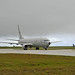 P-8A Poseidon taxis down the flightline after returning from a flight during Exercise Sea Dragon
