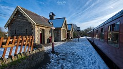 Bitton Railway Station (AreKev) Tags: bittonrailwaystation railwaystation heritagerailway railwayplatform snow avonvalleyrailway avonvalleyrailwaycompanyltd avonvalley midlandrailway mangotsfieldbath branchline railway railwayline bitton southgloucestershire southwestengland england uk aurorahdr2018 hdr aurorahdr nikond850 nikon d850 sigma1424mmf28dghsmart sigma 1424mm 1424mmf28dghsm
