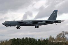 60-0058  Boeing B-52H  USAF (Keith Wignall) Tags: ffd fairford b52 b52h usaf unitedstatesairforce