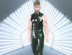 Envy Is My Sin (EnviouSLAY) Tags: latex leather black green neonlights neon lights vest pants envy newreleases new releases tmd themensdepartment the mens department belleza jake bento lelutka taketomi burley letre brunette monthlymen monthlyfashion monthlyfair monthlyevent mensfashion mensmonthly mensfair mensevent monthly event fashion fair pale male gay lgbt blogger secondlife second life photography clubtaketomi club ah