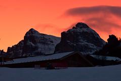 23-12-2018 (luca2142) Tags: altabadia italia italy alpi alps dolomiti dolomites sunset tramonto sella gruppodelsella lavilla badia laila suedtirol altoadige sudtirolo