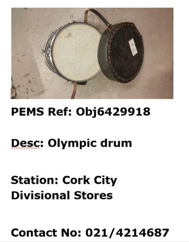 Cork City - Olympic Drum - Obj6429918