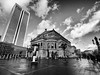 Frankfurt, Old Opera (rgiw) Tags: deutschland city street olympusomdem1 blackwhite bw schwarzweiss sw colour farbe stadt monochrome skyscraper wolkenkratzer strasse building gebäude hessen frankfurt blackandwhite bauwerk architektur architecture olympusmzuiko714mm