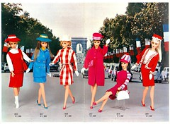 1967 JAPANESE EXCLUSIVES BOOKLET (ModBarbieLover) Tags: 1967 japan exclusive barbie doll mattel tnt fashions vintage mod