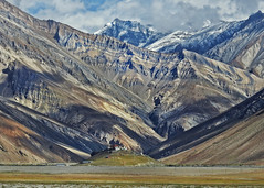 Banded ridge !! (Lopamudra !) Tags: lopamudra lopamudrabarman lopa india bandedridge zanskar suru suruvalley rangdum mountain mountains ridge monastery buddhism buddhist buddha religion religious landscape ladakh jk himalaya himalayas highaltitude highland colour color colours colourful cold peak peace clouds cloud sky beauty beautiful picturesque