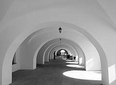 light and shadow (majka44) Tags: architecture light blackandwhite shadow travel people lamp atmosphere nice black|white