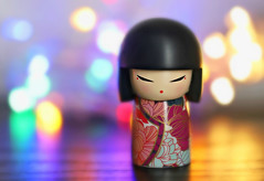 Nightlife in Japan (Through Serena's Lens) Tags: crazytuesday bokeh colorful macro stilllife kimmidoll figurine tabletop canoneos6dmarkii dof multicolour