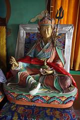 264. Interior, Nagi Gompa (Nunnery), Shivapuri Nagarjun National Park, Kathmandu, Bagmati State, Nepal) (Jay Ramji's Travels) Tags: nepal kathmandu shivapurinagarjunnationalpark bagmatistate northkathmanduvalley nagigompa nunnery buddhism buddhist religious placeofworship statue