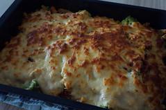 DSC09680 (Kirayuzu) Tags: nudelauflauf gemüseauflauf auflauf nudeln pasta gemüse brokkoli karotten mais erbsen speck bacon selbstgekocht selbstgemacht
