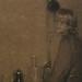 GARRIDO Leandro Ramon,1901 - Jeune Fille lavant des Pots (Louvre RF39578) - Detail 01